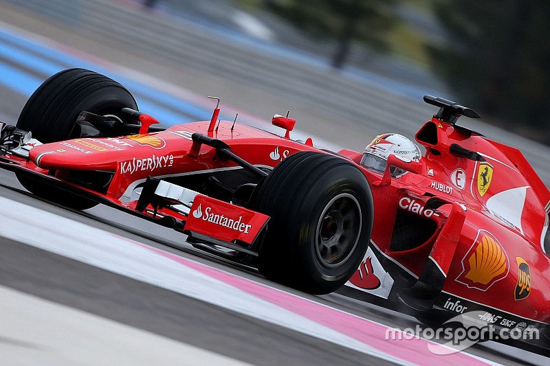 Paul Ricard, J2 - Meilleur temps de Vettel