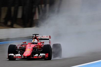 Ricard, Day 2: Vettel chiude davanti a tutti sull'acqua