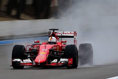 Vettel - Peu de dégradation sur les prototypes pluie