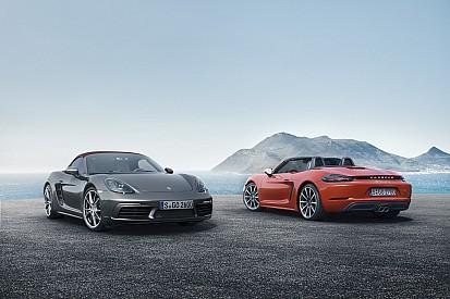 """Porsche 718 Boxster e Boxster S, inizia l'era """"flat four"""""""
