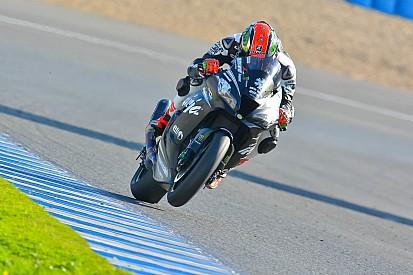 Fulmine Sykes a Jerez. Rea fa prove d'assetto