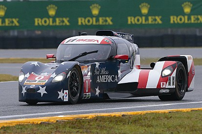 DeltaWing: Weather forces a strategic decision