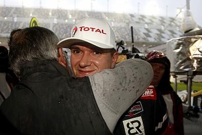 Aleshin takes surprise pole at rain-soaked Rolex 24
