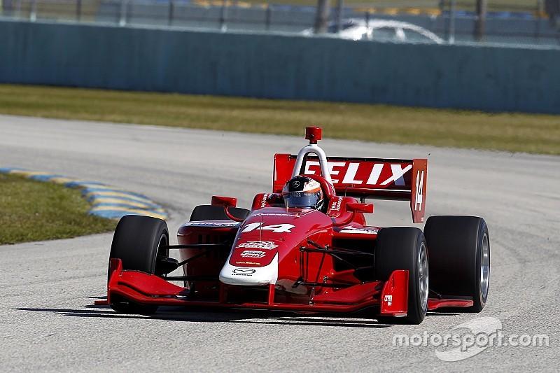 Felix Rosenqvist le plus rapide à Homestead-Miami