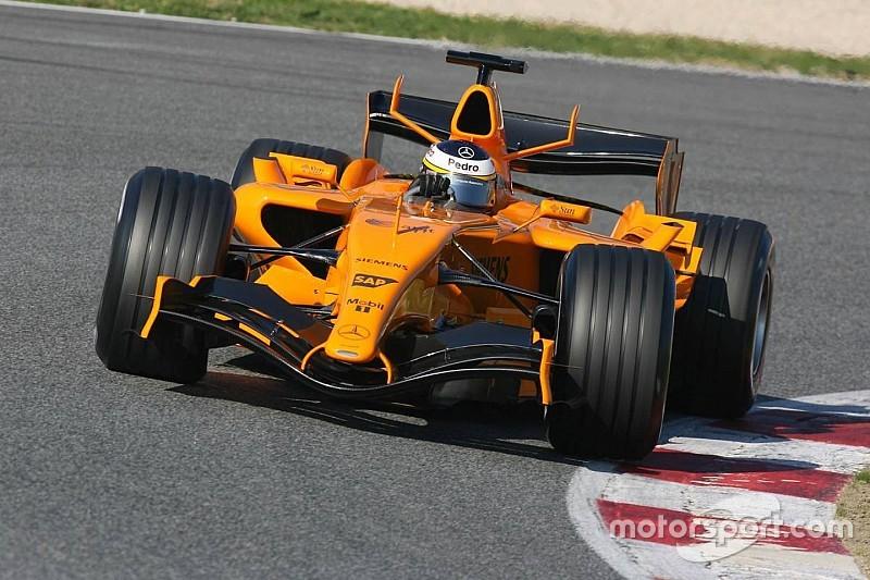 Vor 10 Jahren: McLaren testet in Orange