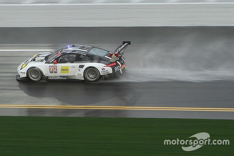 Porsche poursuit sur sa lancée à Daytona