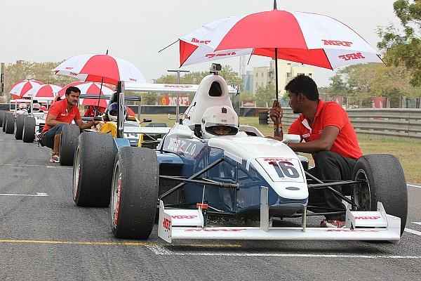Tharani beats Reddy to MRF F1600 pole