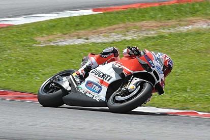 Stoner de retour au guidon d'une Ducati à Sepang
