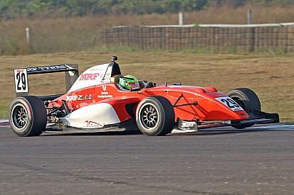 Schumacher Jr a podio in MRF Challenge