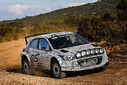 La nuova Hyundai i20 R5 ha debuttato in Francia