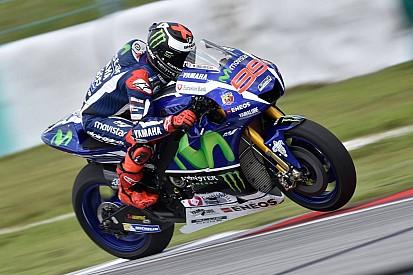 Atual campeão, Lorenzo coloca 1s em Rossi e lidera 1º teste