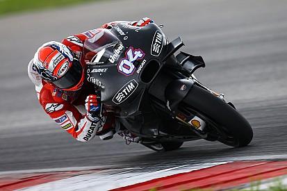 La nuova Ducati ha dato sensazioni positive ai piloti