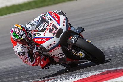 MotoGP-Test in Sepang: Bestzeit für Ducati, heftiger Sturz von Loris Baz