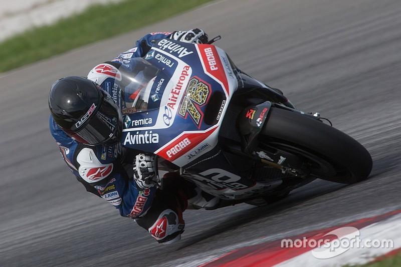 Pneu de Baz estoura a 290 km/h em teste; Petrucci lidera