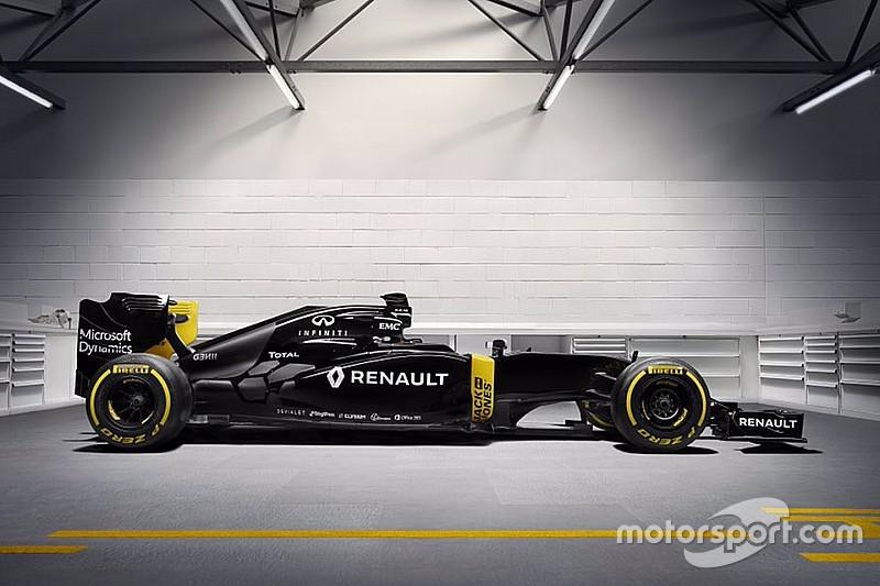 Em evento, Renault é primeira equipe da F1 a revelar pintura