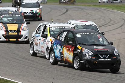 Olivier Bédard, premier champion de la Coupe Nissan Micra