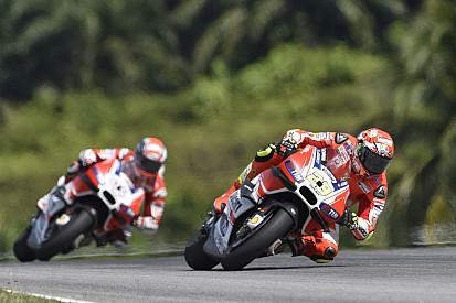 Ducati - Des essais parsemés de soucis pour les pilotes officiels