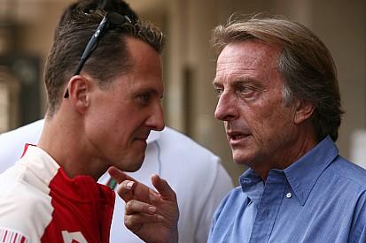 """Montezemolo dice que las noticias que le llegan de Schumacher """"no son buenas"""""""