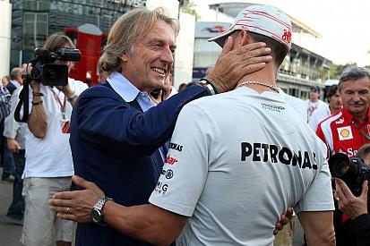 'Geen goed nieuws' over Schumacher - di Montezemolo