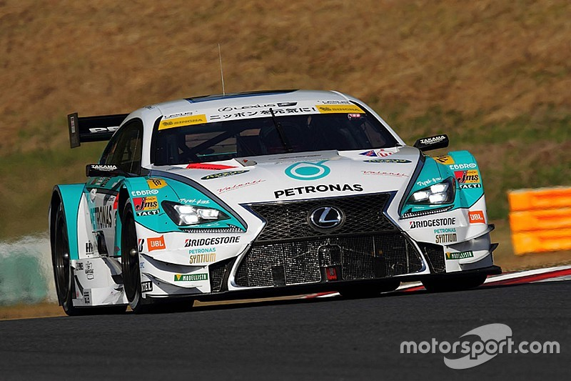 Cassidy gets Lexus factory drive in Super GT