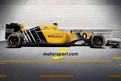 So könnte das finale Formel-1-Design für den Renault RS16 aussehen