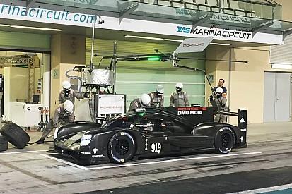 Un incidente rallenta i test Porsche 919 2016