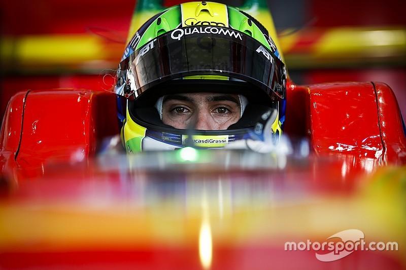 Quatrième podium en autant de courses pour di Grassi