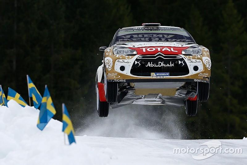 Rally van Zweden gaat door maar route ingekort