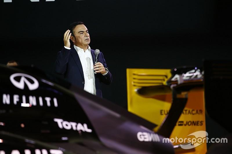 Voorzitter Ghosn: Ik bemoei me niet met line-up Renault F1