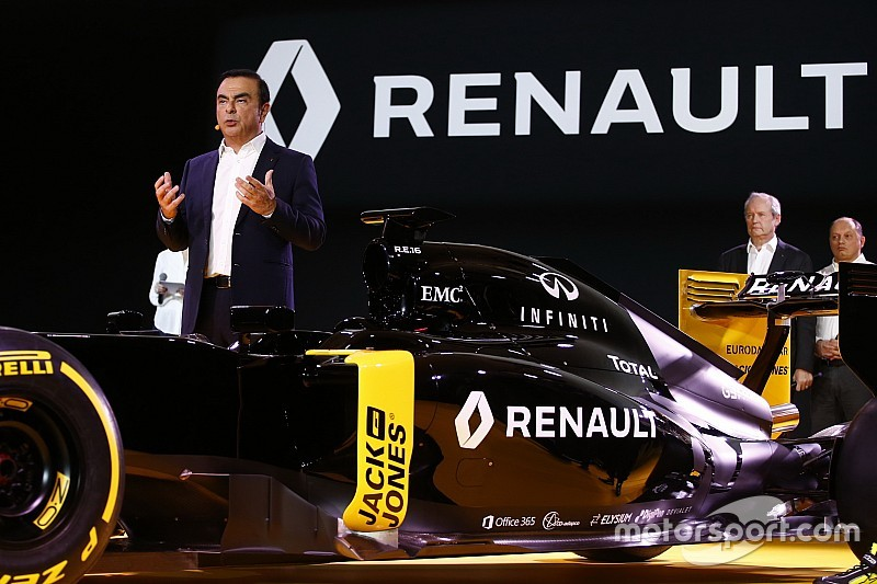 Renault F1 - Pas d'interventionnisme pour Carlos Ghosn