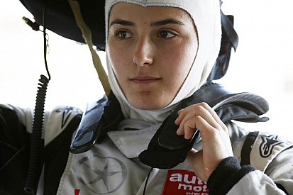 Tatiana Calderon in GP3 con il team Arden International