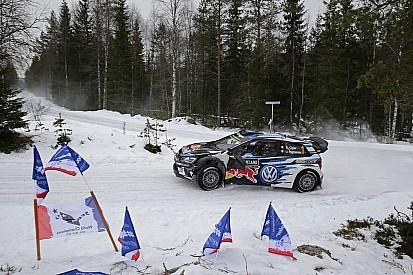Ogier lidera en el inicio del Rally de Suecia