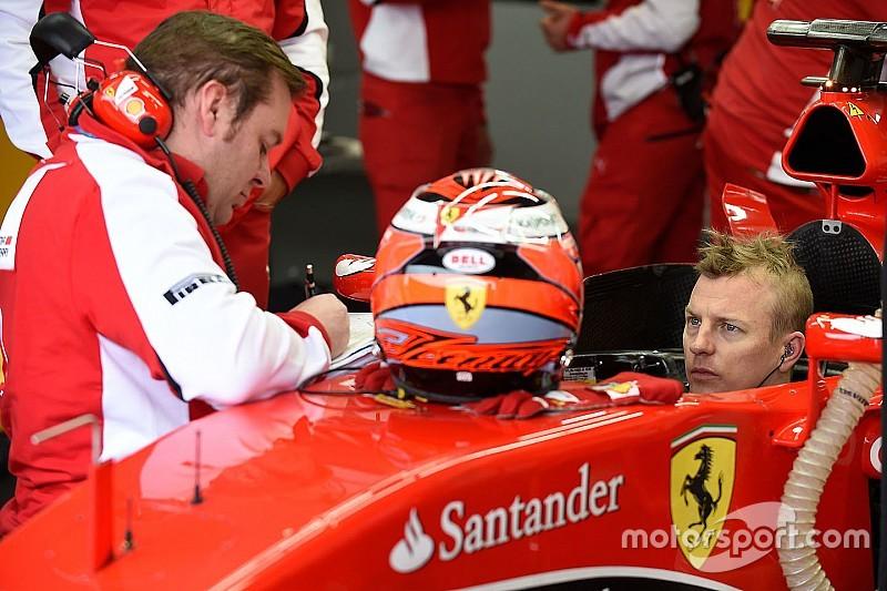 Raikkonen fa il sedile sulla nuova Ferrari