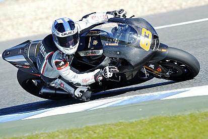 Mike di Meglio se blesse lors d'essais avec Aprilia