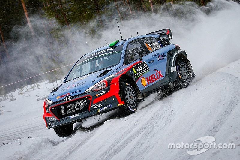 Rally di Svezia, PS8: Paddon va all'attacco di Ogier!