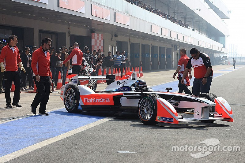 L'India accelera per una gara di Formula E