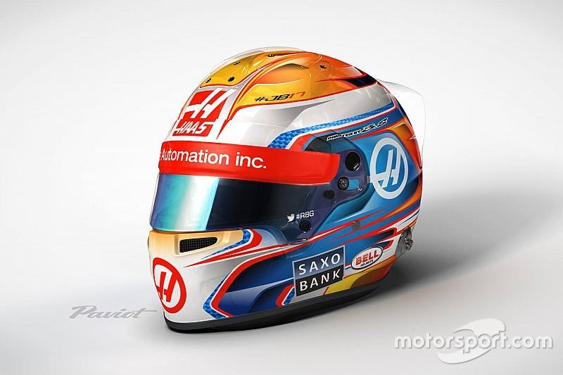 Грожан определился с дизайном шлема