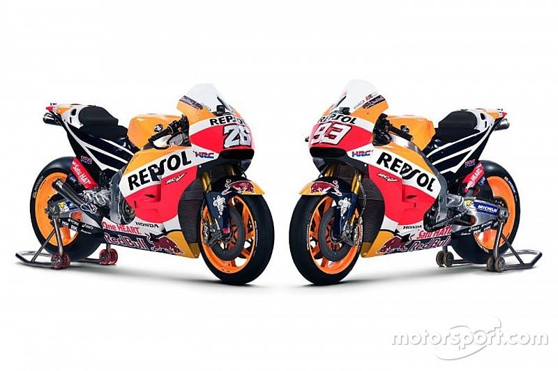 Honda präsentiert neues MotoGP-Bike für Marquez und Pedrosa