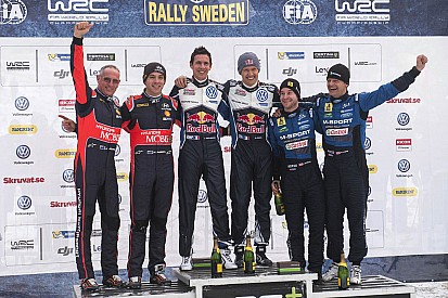 2016WRC瑞典站: 大众车手奥吉尔加分赛段保持好状态最终拿下瑞典站冠军
