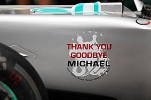 2012年11月25日:舒马赫最后一场F1比赛
