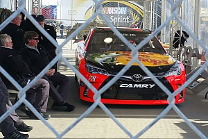 NASCAR Cup Breaking news NASCAR penalizes Truex, Harvick and Vickers after qualifying