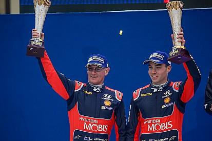 Paddon-Kennard il primo equipaggio non europeo a podio in Svezia
