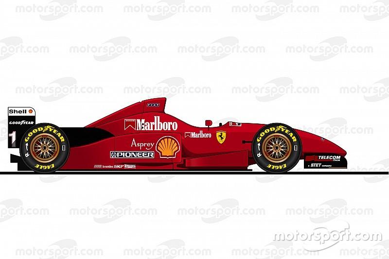Alle Formel-1-Ferrari von Michael Schumacher von 1996 bis 2006