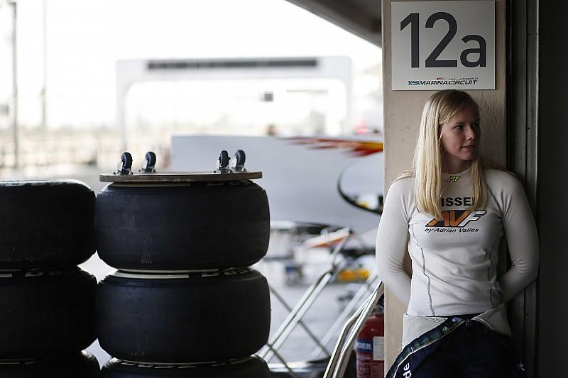 """Exclusief: Beitske Visser: """"Formule 1 is nog steeds het doel"""""""