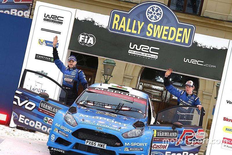 La nuova Ford Fiesta R5 EVO concede il bis in Svezia. E' già più veloce della Fabia?