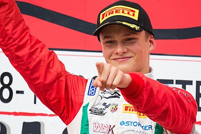 New Prema F3 recruit Aron targets rookie title