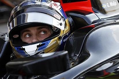 Gustav Malja met Rapax in GP2