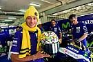 Yamaha y los fans felicitan a Valentino por su cumpleaños