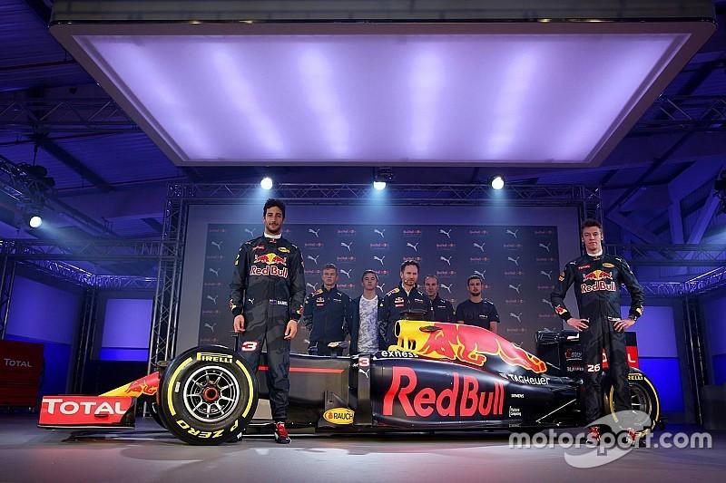 Red Bull presenteert mat blauwe livery voor F1-seizoen 2016
