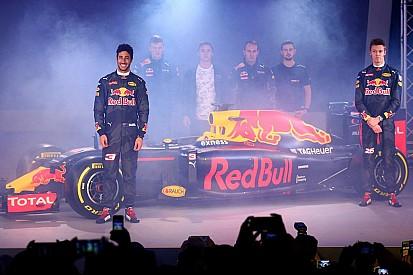 Red Bull présente sa livrée pour la saison 2016